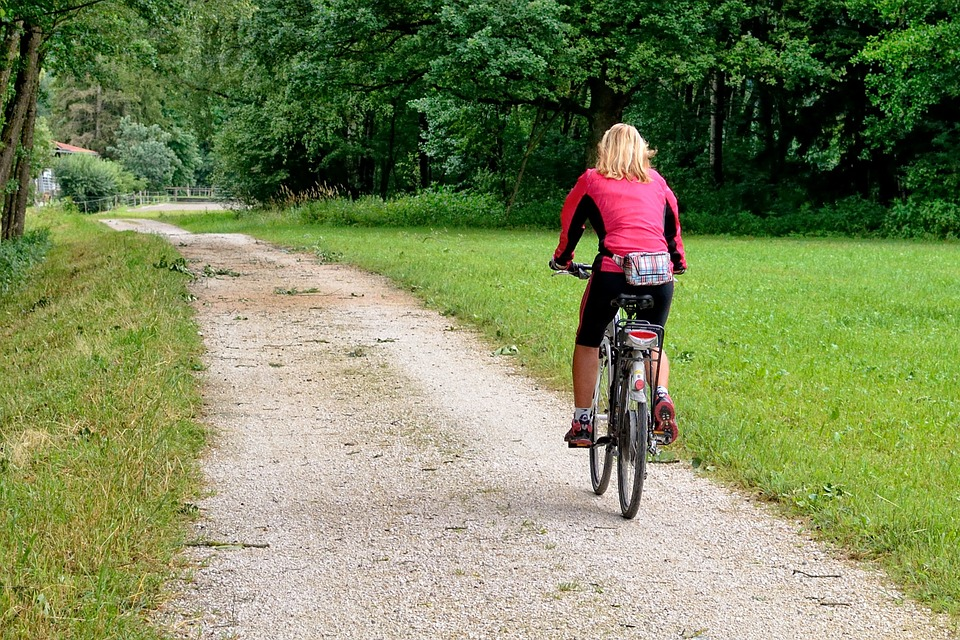 Cycling Collingwood Paths